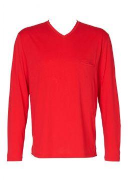 V-Shirt Langarm
